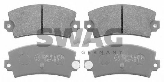 60 91 6407 Brake System Brake Pad Set, disc brake