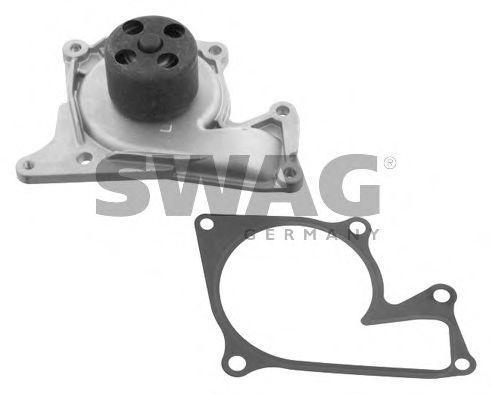 60 93 6204 Cooling System Water Pump