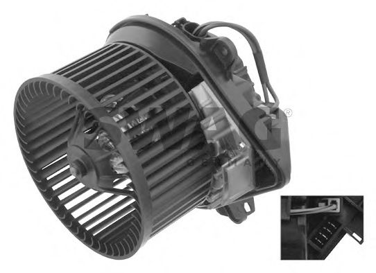 62 93 6811 Heating / Ventilation Interior Blower