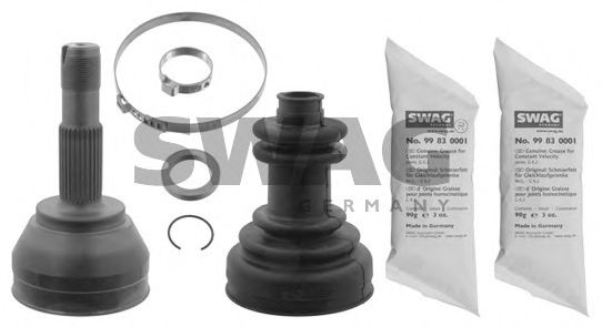 70 81 0003 Final Drive Joint Kit, drive shaft