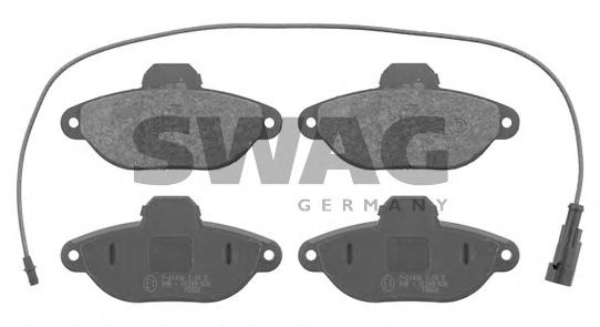 70 91 6084 Brake System Brake Pad Set, disc brake