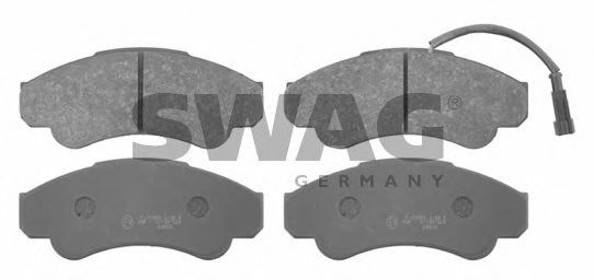 70 91 6663 Brake System Brake Pad Set, disc brake