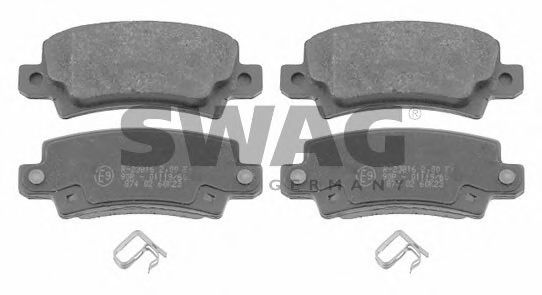 81 91 6577 Brake System Brake Pad Set, disc brake