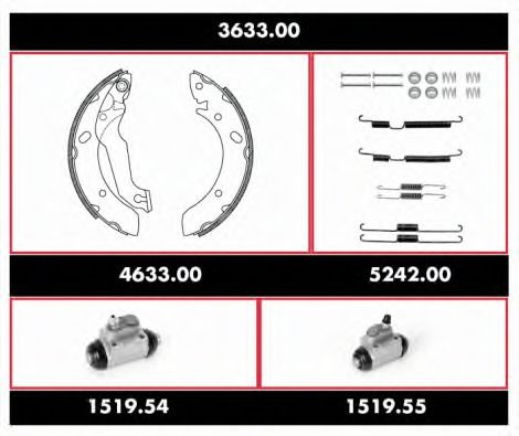 3633.00 Propshaft, axle drive