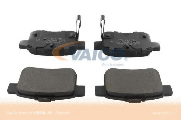 V26-0036 Brake System Brake Pad Set, disc brake