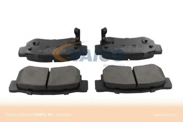 V52-0013 Brake System Brake Pad Set, disc brake