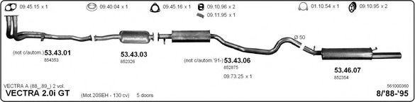 561000360 Exhaust System