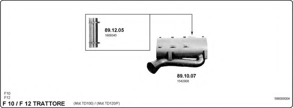 586000004 Exhaust System