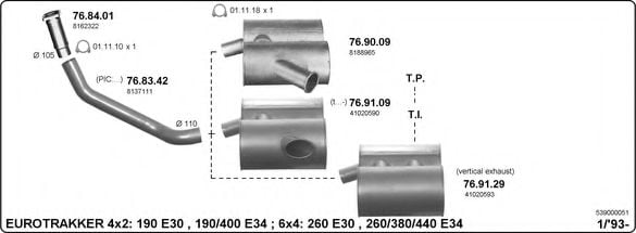 539000051 Exhaust System