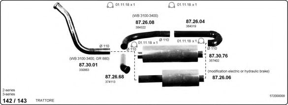 572000009 Exhaust System