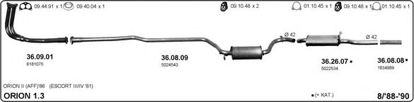 525000271 Exhaust System