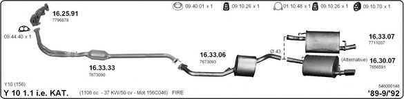 546000148 Exhaust System
