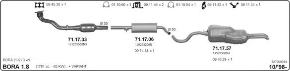 587000014 Exhaust System