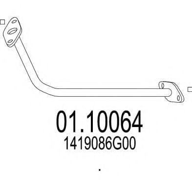 01.10064 Exhaust Pipe