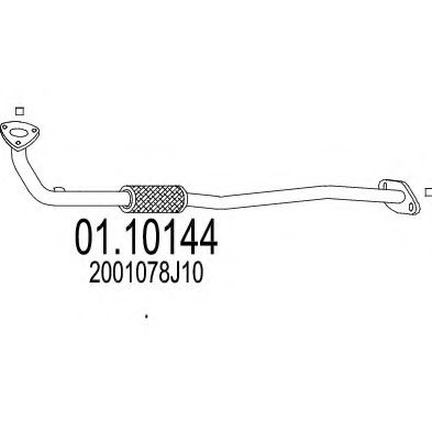 01.10144 Exhaust Pipe