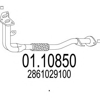 01.10850 Exhaust Pipe