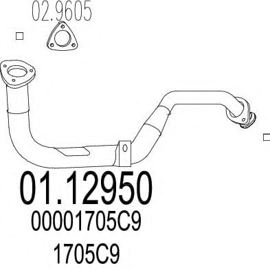01.12950 Exhaust Pipe