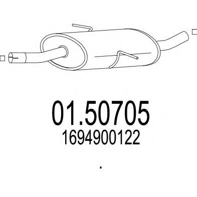 01.50705 Middle Silencer