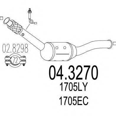 04.3270 Exhaust Pipe
