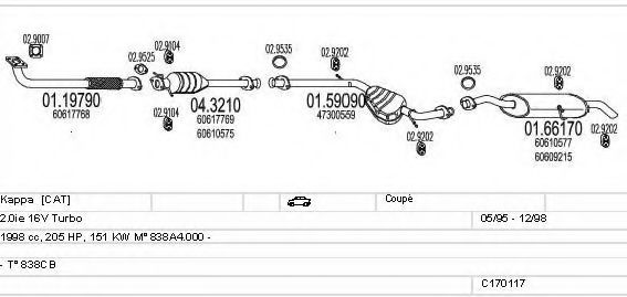 C170117009620 Exhaust System