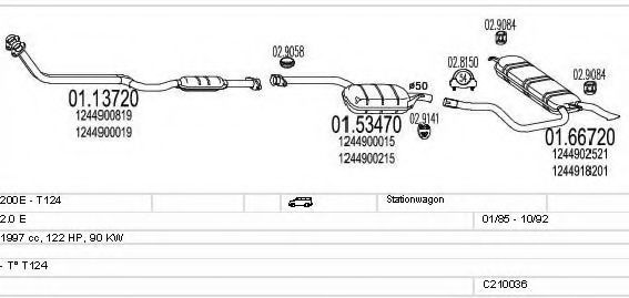 C210036004996 Exhaust System