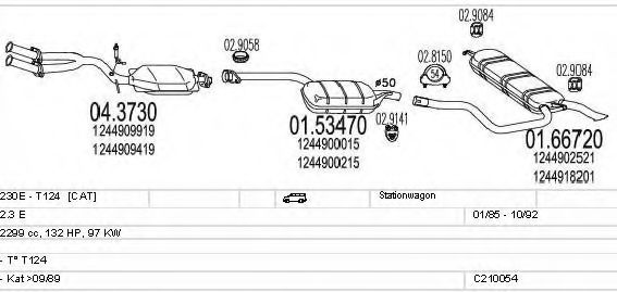 C210054004091 Exhaust System