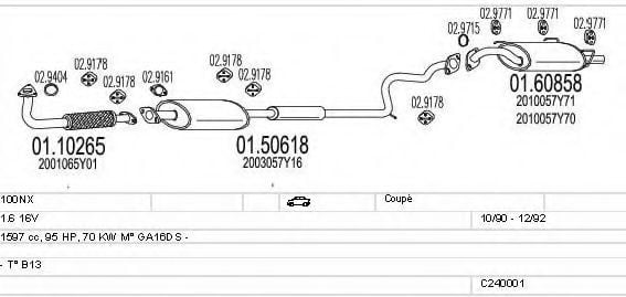 C240001004465 Exhaust System