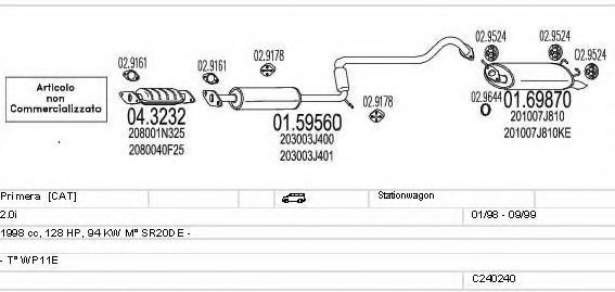 C240240009664 Exhaust System