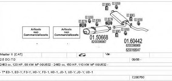 C280760010690 Exhaust System