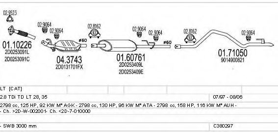 C380297003137 Exhaust System