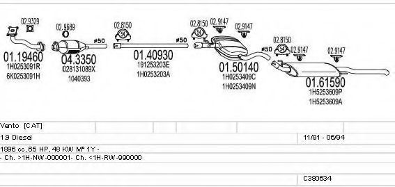 C380634002602 Exhaust System