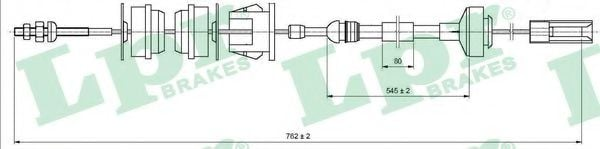 C0338C Clutch Cable