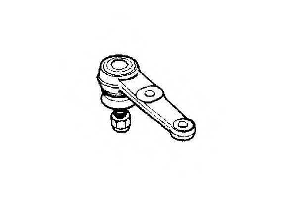 0400284 Wheel Suspension Ball Joint