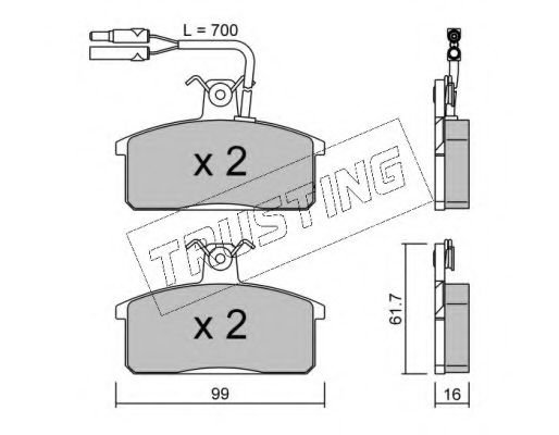 028.1 Clutch Cable