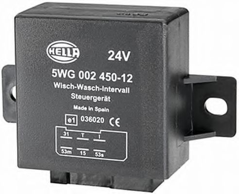 5WG 002 450-121 Relay, wipe-/wash interval