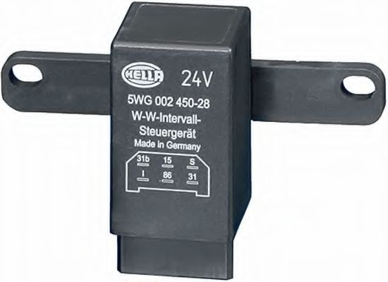5WG 002 450-281 Relay, wipe-/wash interval