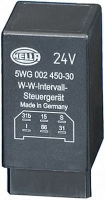 5WG 002 450-307 Relay, wipe-/wash interval