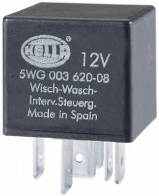 5WG 003 620-081 Relay, wipe-/wash interval