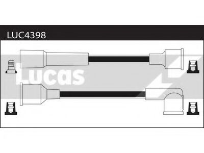 LUC4398 Ignition Cable Kit