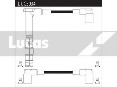 LUC5034 Ignition Cable Kit