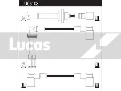 LUC5108 Ignition Cable Kit