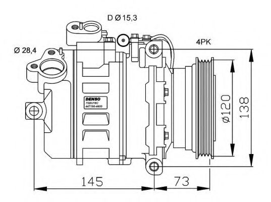32518G Compressor, air conditioning