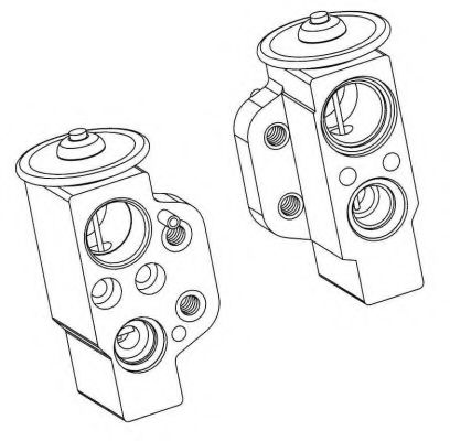 38368 Expansion Valve, air conditioning