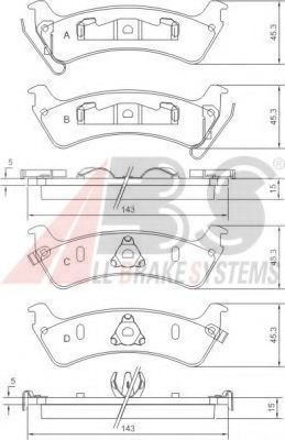 38666 Mounting, automatic transmission