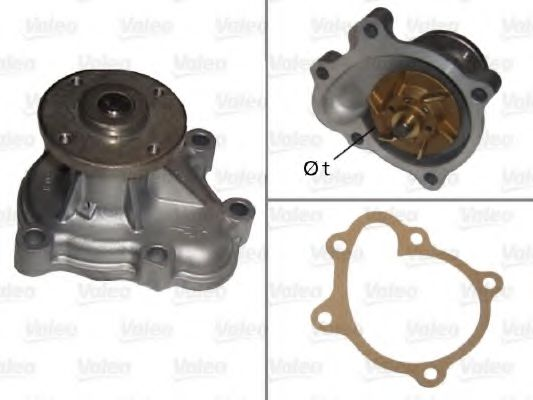 506482 Cooling System Water Pump