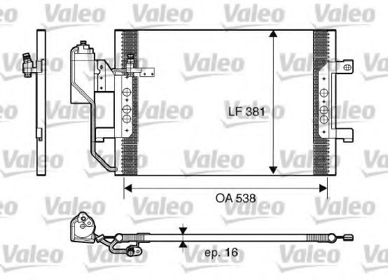 817659 Air Conditioning Condenser, air conditioning