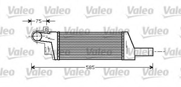 818728 Air Supply Intercooler, charger