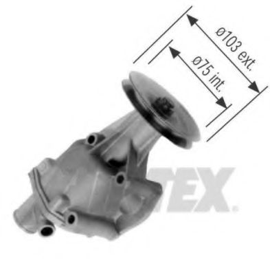 1094 Cooling System Water Pump
