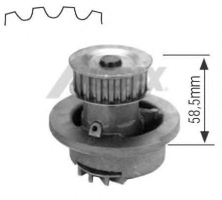 1164 Cooling System Water Pump