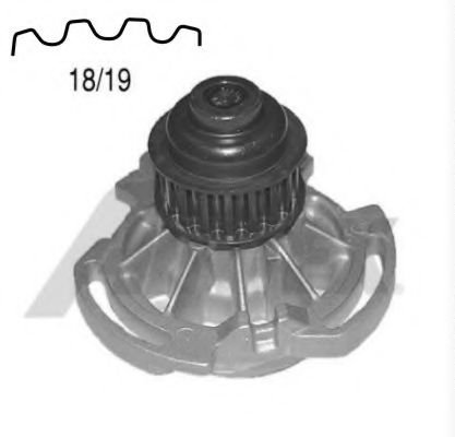 1338 Cooling System Water Pump